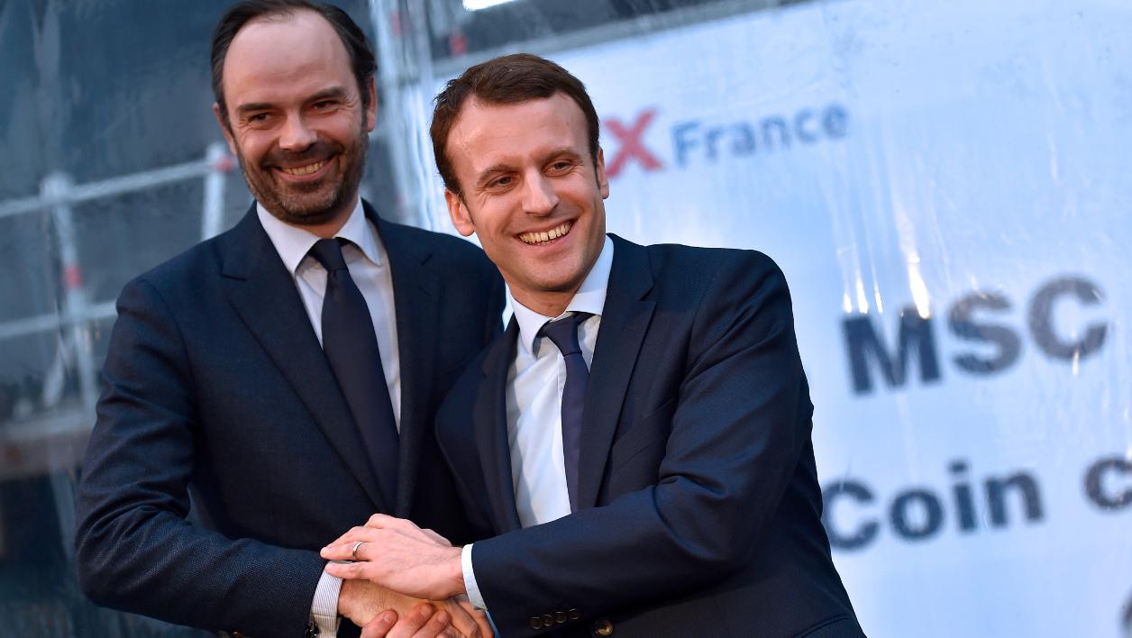 FRANCE : Edouard Philippe nommé premier ministre d'Emmanuel Macron