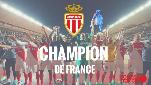 Ligue 1. Monaco champion de France