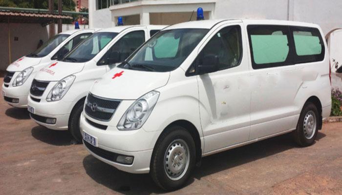 Fatick : une ambulance offerte au poste de santé de Diohine