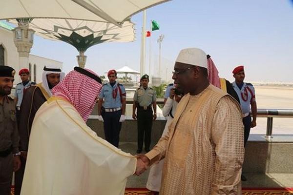 ARRIVÉE DU PRÉSIDENT SALL EN ARABIE SAOUDITE POUR LE SOMMET ARABO-ISLAMIQUE