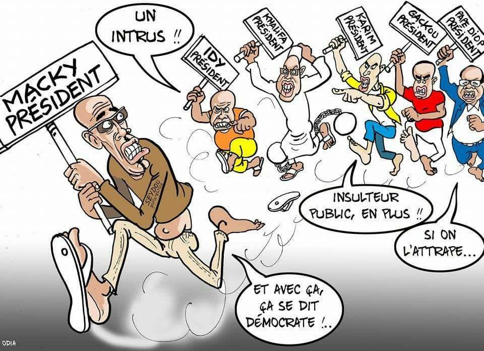 Présidents contre Président (La Tribune d'Odia)...