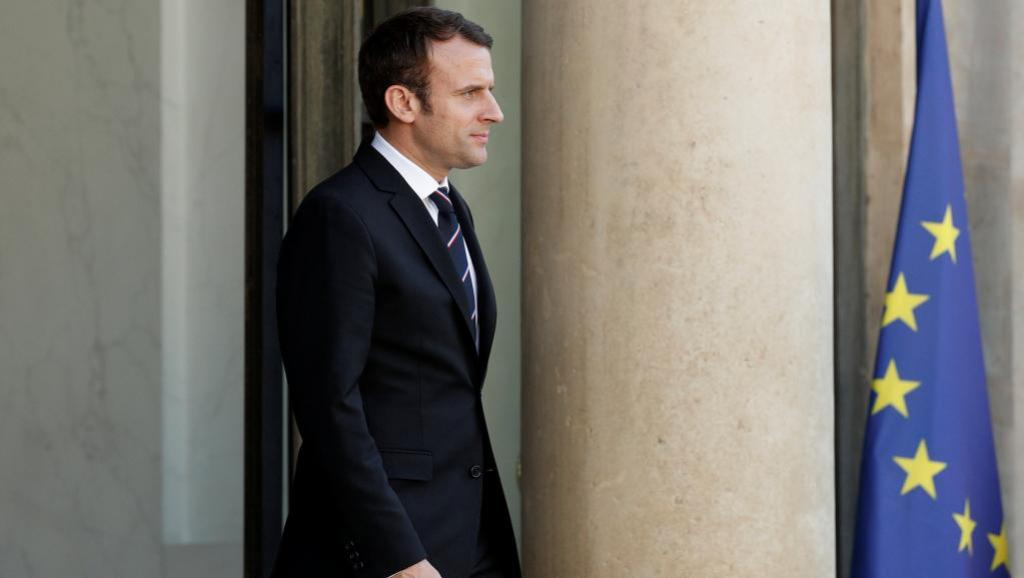 Relations de Macron avec la presse : première tension