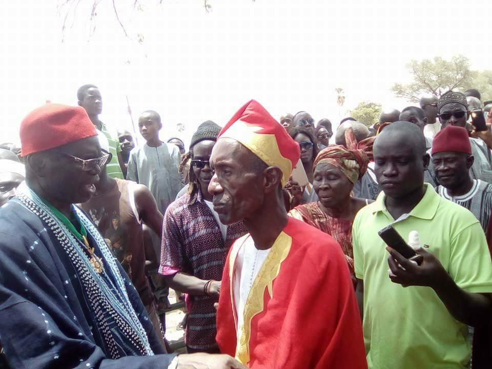 Intronisation du Bour Saloum Thierno Ndaw