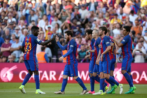 Le Barça félicite le Real