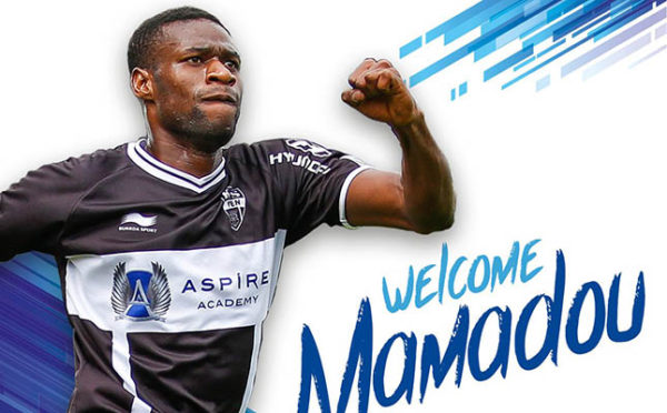 Officiel : Mamadou Sylla signe pour quatre ans à La Gantoise