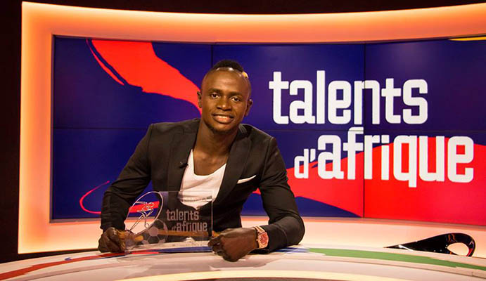 Le message de Sadio Mané après avoir reçu son trophée « Talent d'Or »