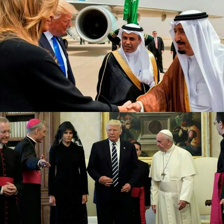 Trump et sa femme manquent-ils de respect aux musulmans ?