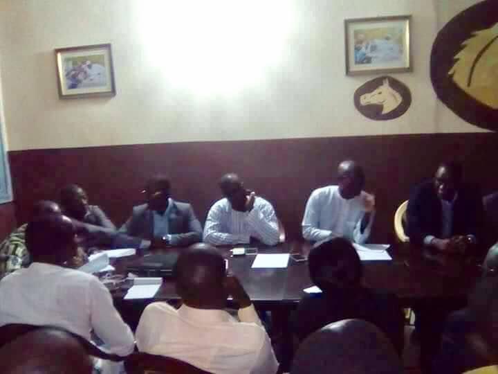 """Apr Pikine : Les cadres se mobilisent derrière leur coordinateur Abdou Karim Sall pour une victoire éclatante de la liste de """" Benno"""" dans le département"""