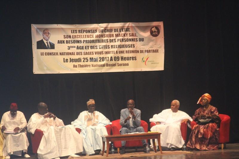 Elections législatives : Le conseil national des sages étale son programme