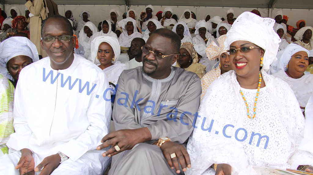 Les images de la Grande mobilisation solidaire (Gms) initiée par Mme Maïmouna Ndoye Seck, ministre du Tourisme à la Place de la Nation