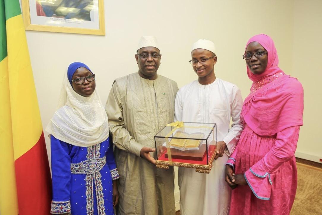 AUDIENCE AU PALAIS : Macky Sall reçoit les lauréats du Concours international de récitation du Coran
