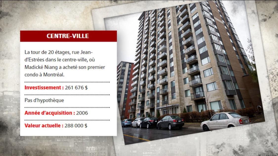 PLANQUE D'ARGENT A L'ETRANGER : Me Madické Niang et ses pied-à-terre dans des immeubles à Montréal