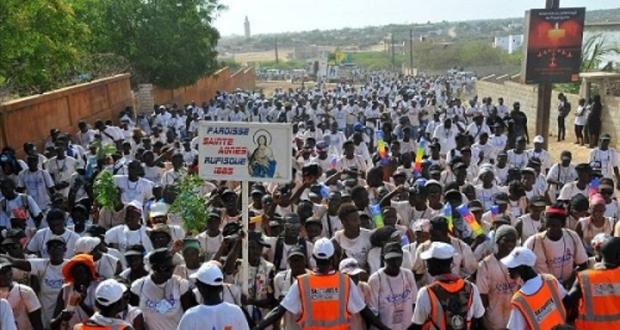 PÈLERINAGE MARIAL DE POPONGUINE : La ferveur gagne la cité religieuse