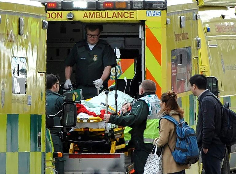 Attentat de Londres : Au moins 20 personnes hospitalisées