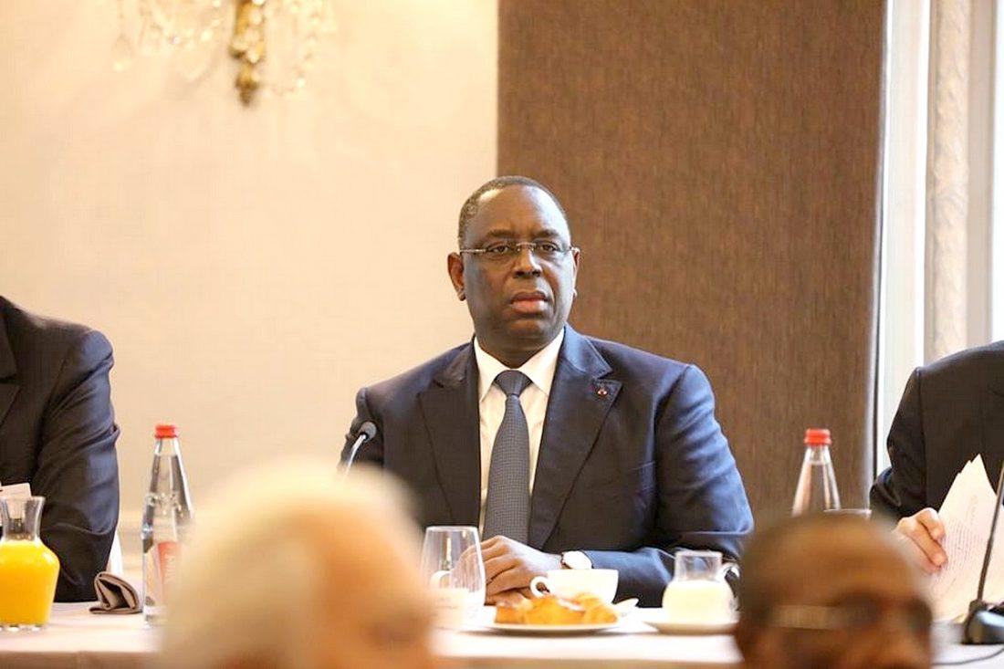 """Phénomène migratoire : Macky Sall souhaite """"une réponse durable et apaisée"""""""