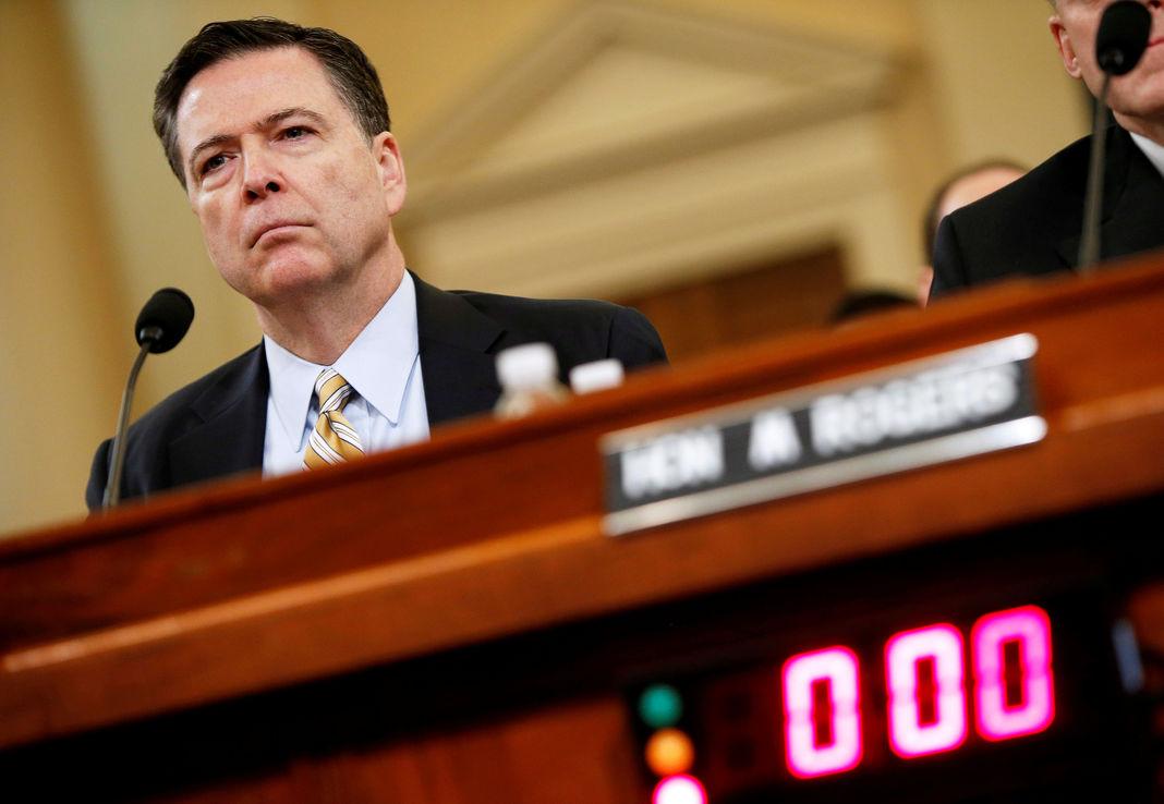 Avant son audition déterminante devant le Congrès, l'ancien directeur du FBI charge Donald Trump
