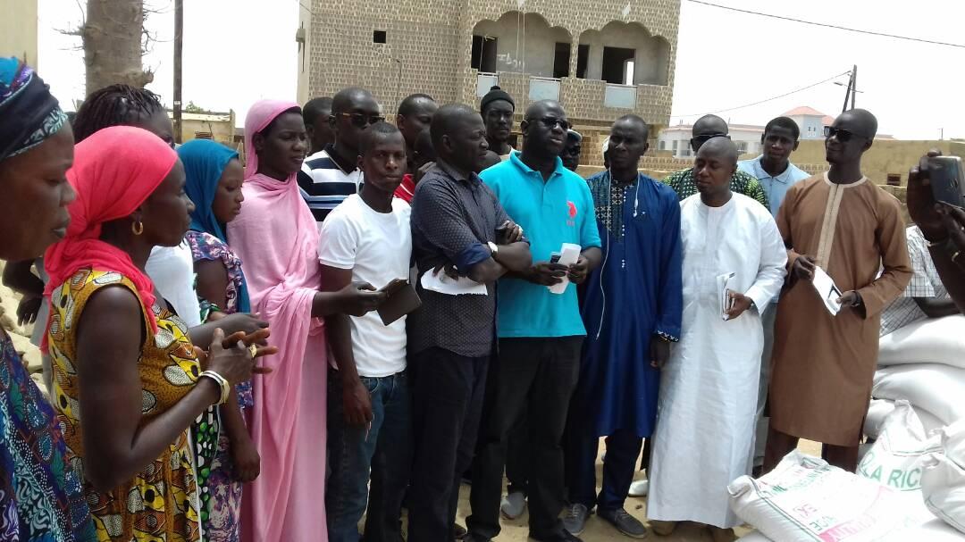 Solidarité Ramadan : Birame Faye gâte encore  les populations de Fatick