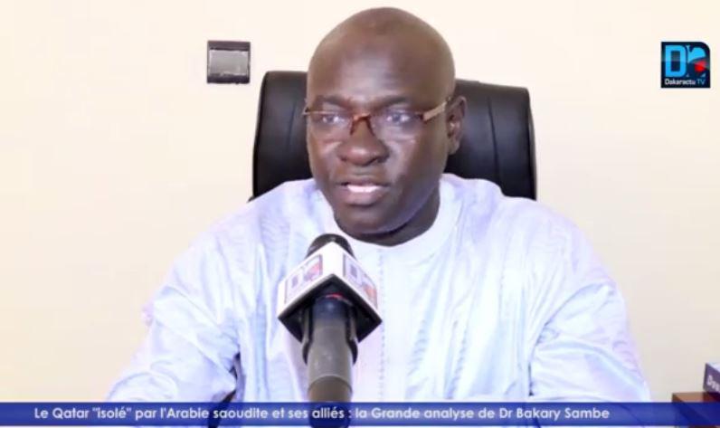 Dr. Bakary sambe (CER- UGB) : « Les discussions entre Trump et l'Emir du Qatar montrent que le financement de l'extrémisme concerne aussi ses voisins. Le Sénégal doit rester du camp de la paix et de la médiation»