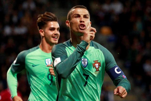 Le Portugal assure en Lettonie grâce à Cristiano Ronaldo