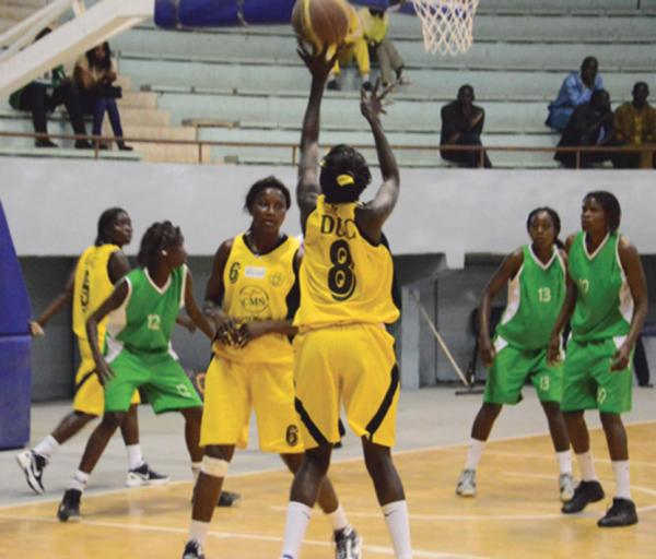 FINALE DE LA COUPE NATIONALE DE BASKET-BALL DAMES, DIMANCHE