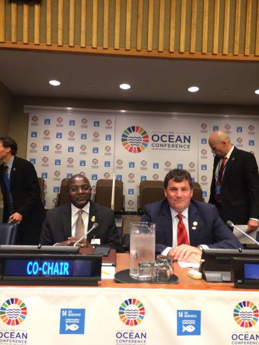 Conférence de haut niveau sur l'ODD 14 : Plaidoyer pour une pêche durable en Afrique