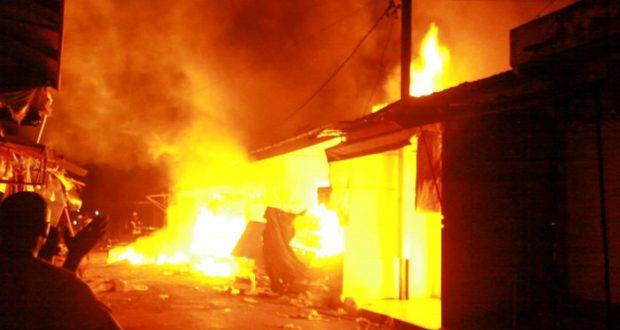 Un violent incendie cause d'énormes dégâts à Gossas