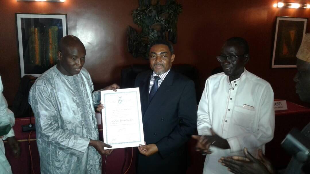 Propriété intellectuelle : Aly Ngouille Ndiaye remet  60 000 000 FCFA aux inventeurs et innovateurs