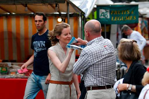 NKM, en campagne à Paris, fait un malaise après une altercation avec un passant