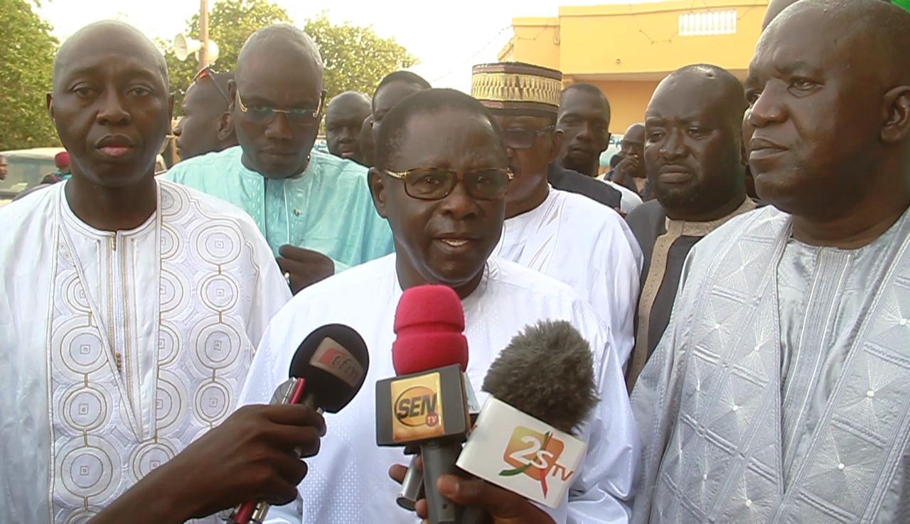 (TOUBA) - COALITION GAGNANTE MANKO - Pape Diop accuse Macky d'avoir plongé le Sénégal dans une crise et d'avoir dribblé ses alliés lors des investitures
