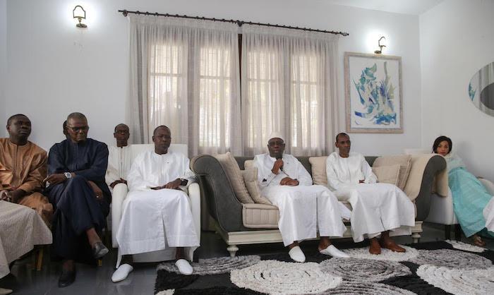 CONDOLÉANCES : Le Président Macky Sall chez le ministre de l'Intérieur Abdoulaye Daouda Diallo