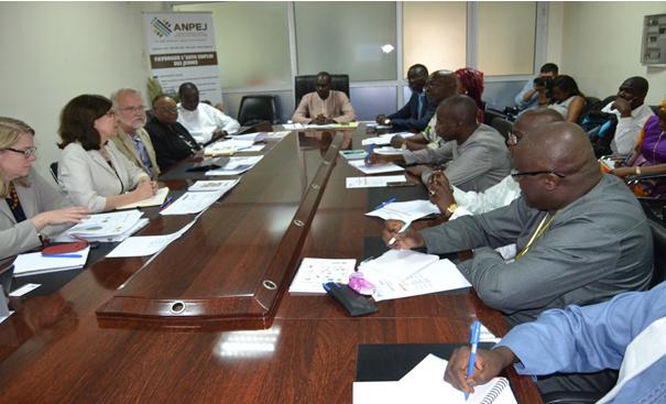 Employabilité des jeunes : Le conseil d'Administration de la Fondation Mastercard à l'ANPEJ