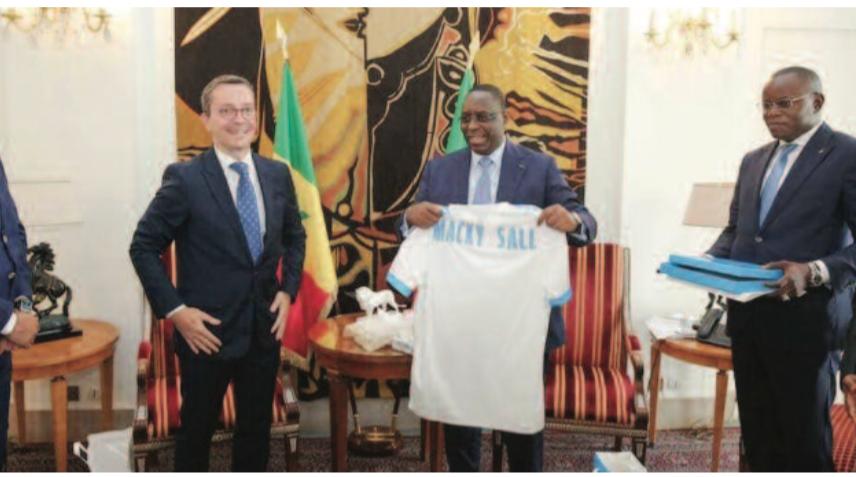 JACQUES-HENRI EYRAUD, PRÉSIDENT DE L'OLYMPIQUE DE MARSEILLE : «Notre objectif est de faire en sorte que de jeunes sénégalais rejoignent l'OM»