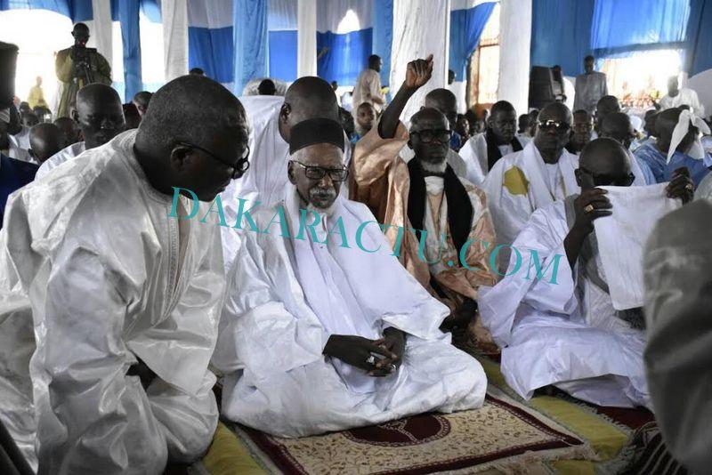 TOUBA - Les images de la prière de l'Aïd-El-Fitr célébrée en présence du Khalife Général des Mourides