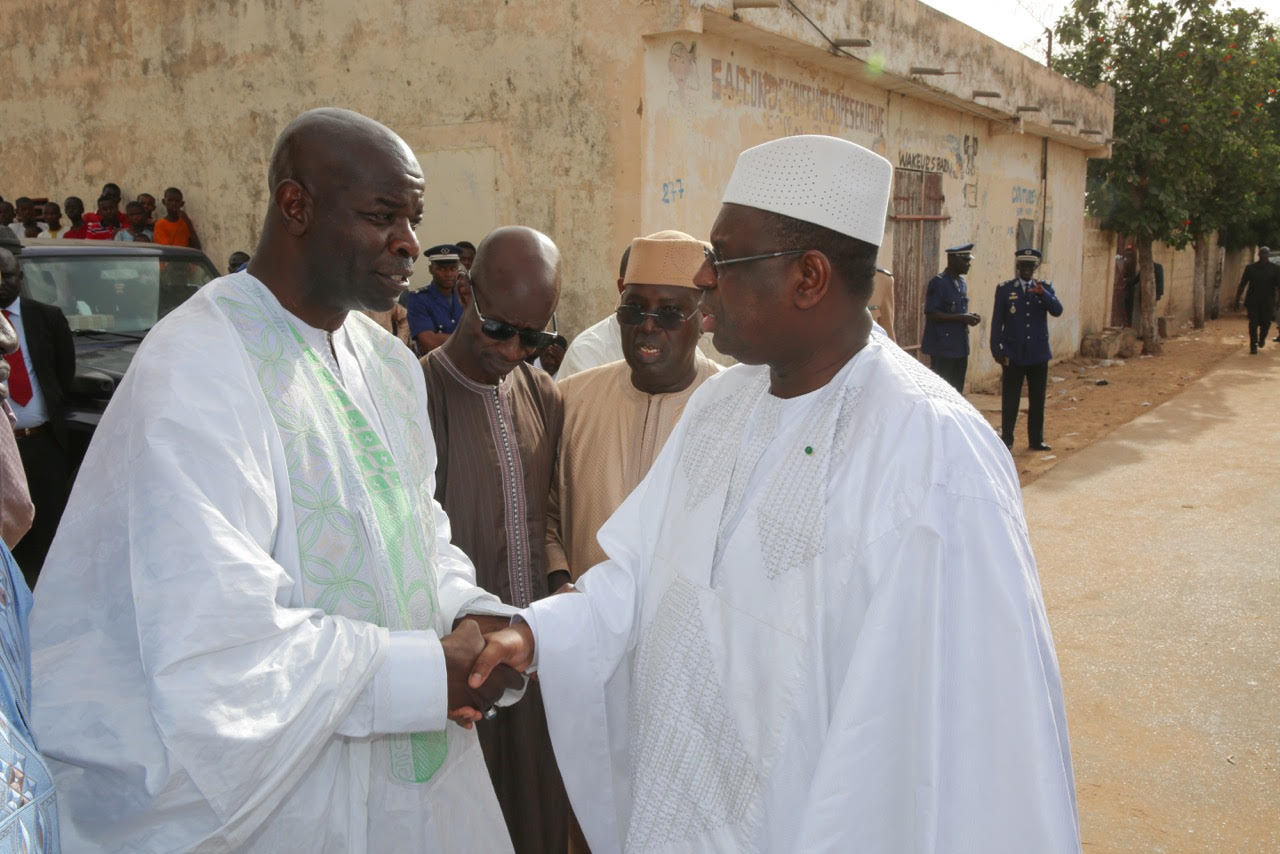 PIRE : Le président Macky Sall a présenté ses condoléances à la famille de Serigne Moustapha Cissé (IMAGES)