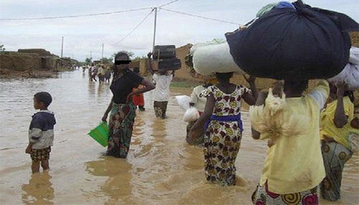 La pluie fait des dégâts matériels à Kaffrine