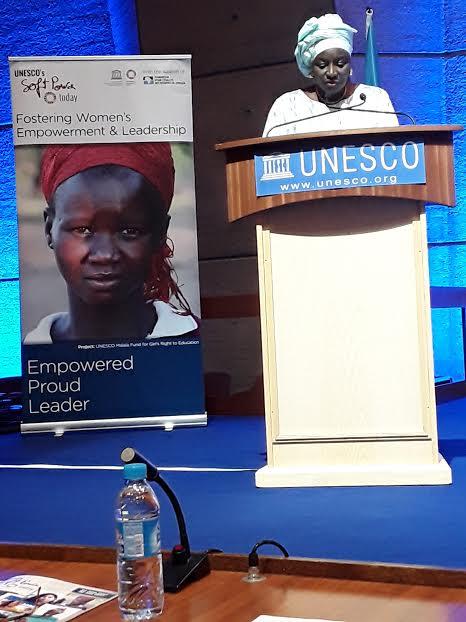 Forum International de l'UNESCO sur le leadership des Femmes : Mimi Touré théorise l'Alliance stratégique entre les Femmes et les Jeunes