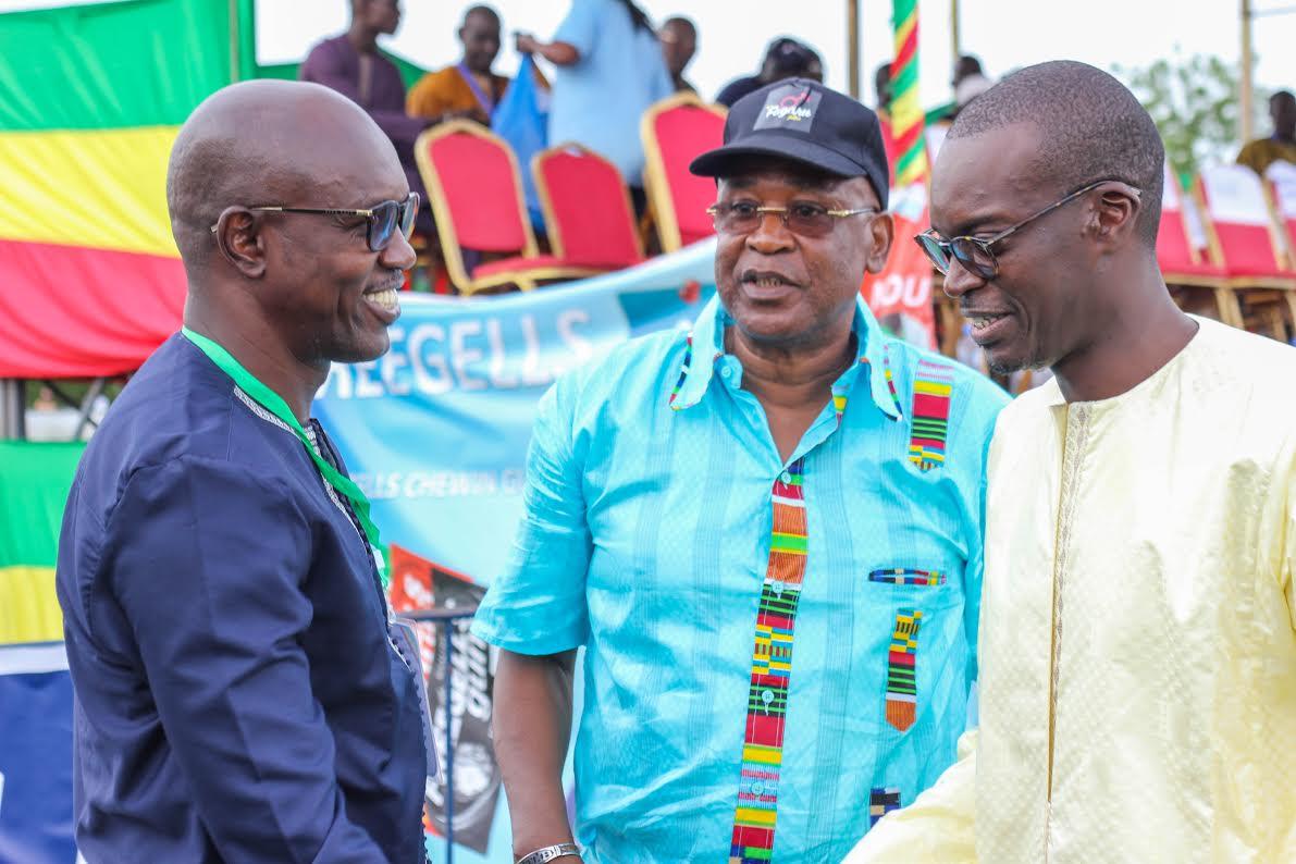 Forte mobilisation du DG de la SN HLM lors de la finale du Drapeau du Chef de l'État à Tamba (Images)