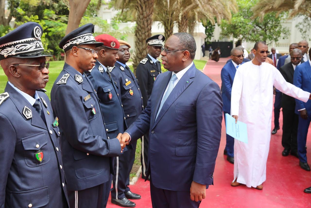 Réception de véhicules tout terrain pour le renforcement des moyens logistiques de la police nationale