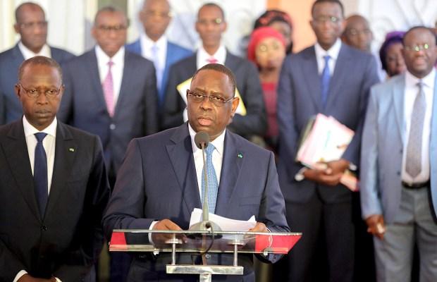 LÉGISLATIVES : Macky Sall demande au Gouvernement de prendre les dispositions pour un bon déroulement de la campagne électorale