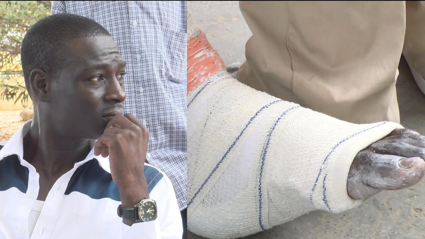 Assemblée nationale : Gallo Tall évacué par la Gendarmerie est sérieusement blessé à la jambe