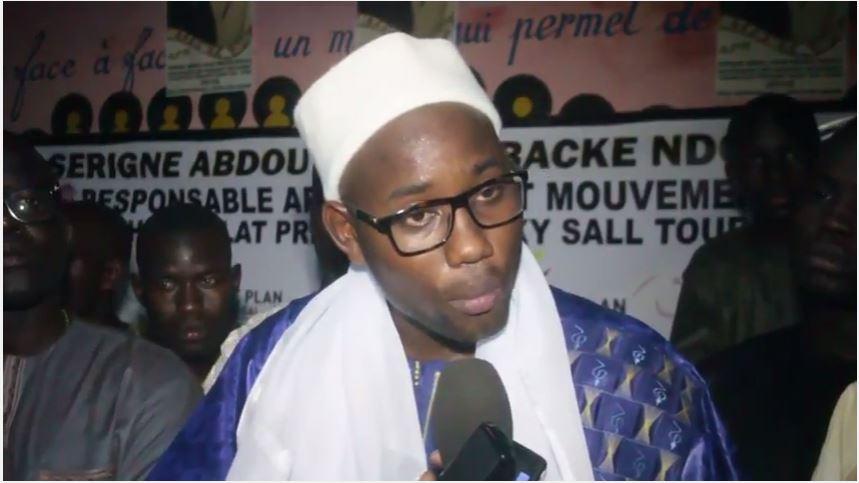 """SERIGNE ABDOU LAHAD MBACKÉ NDOULO : """" Si nous dormons sur nos lauriers à cause de la mobilisation de Mbacké...'"""