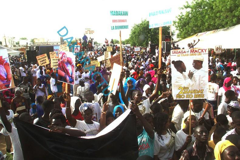 Les images du meeting d'ouverture de Benno Bokk Yakaar à Mbacké