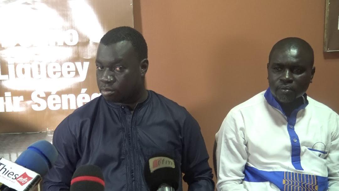 El Malick Seck lance sa campagne à Thiès : Le leader du mouvement Changer Thiès a rencontré la presse locale devant ses principaux responsables