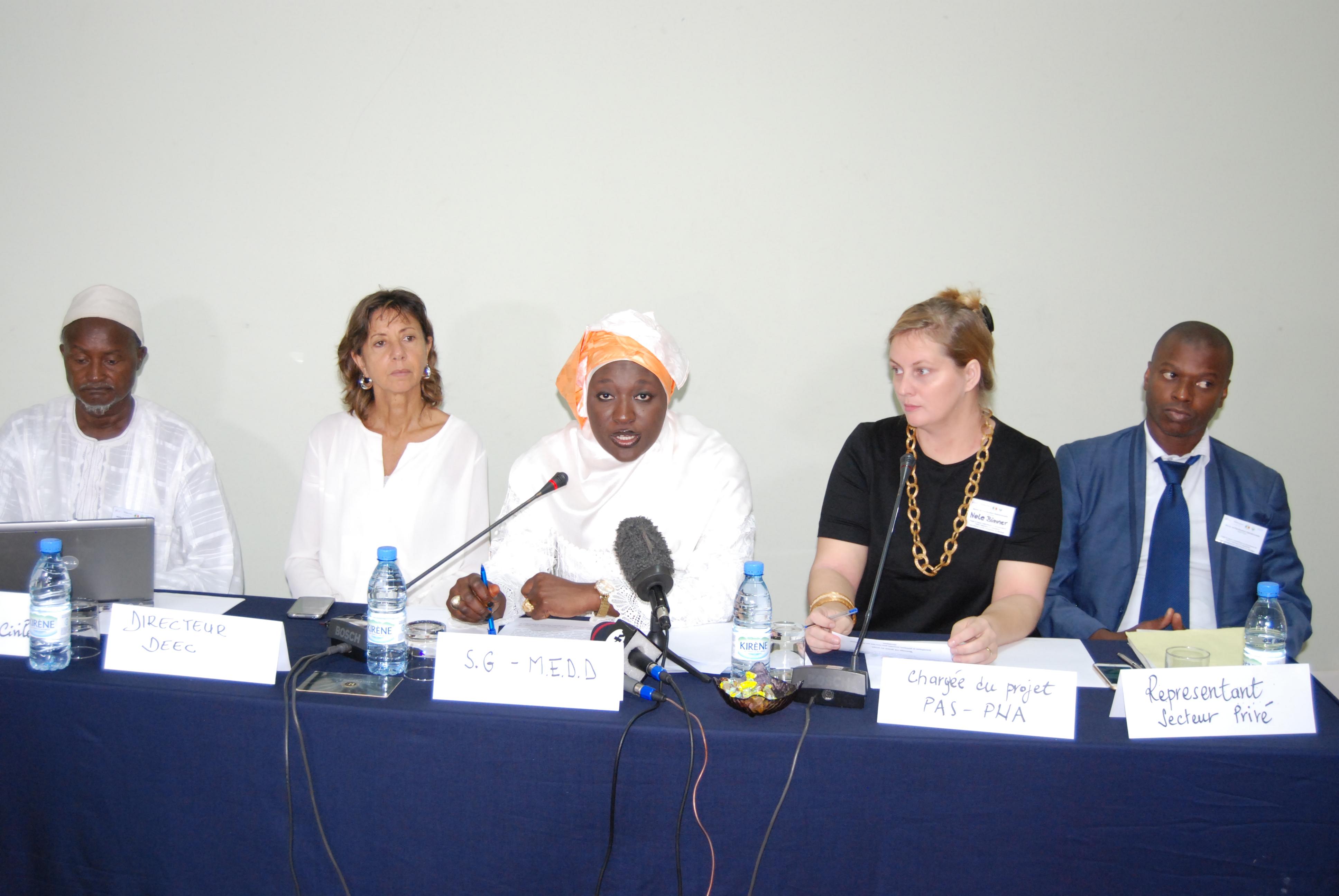 Changement climatique : Le Sénégal identifie ses secteurs prioritaires d'adaptation
