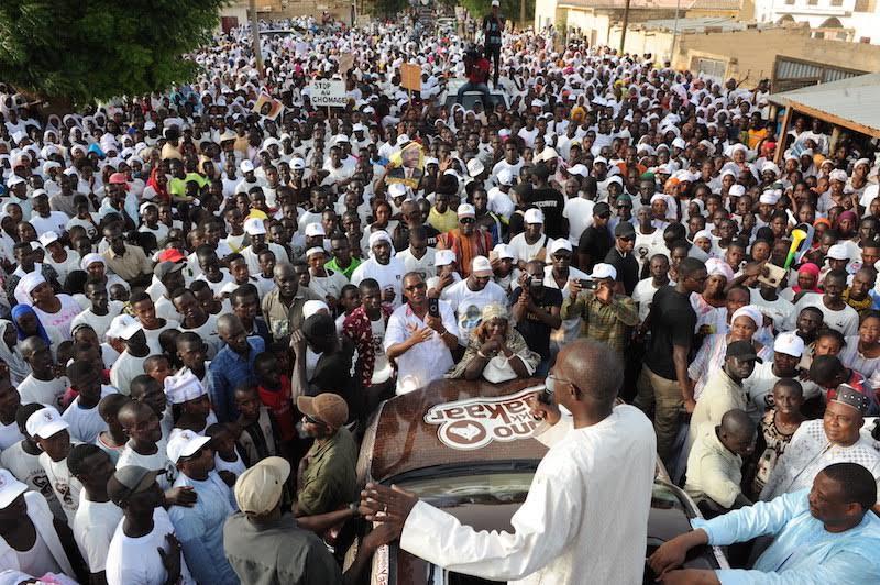 Campagne pour les législatives : Dagana a basculé dans le camp présidentiel !