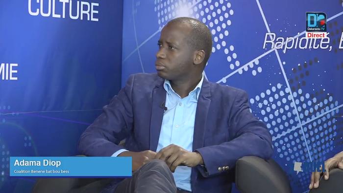 """Adama Diop (Bénène Batte Bou Bess) : """"Le mode de scrutin adopté au Sénégal n'est pas bon"""""""