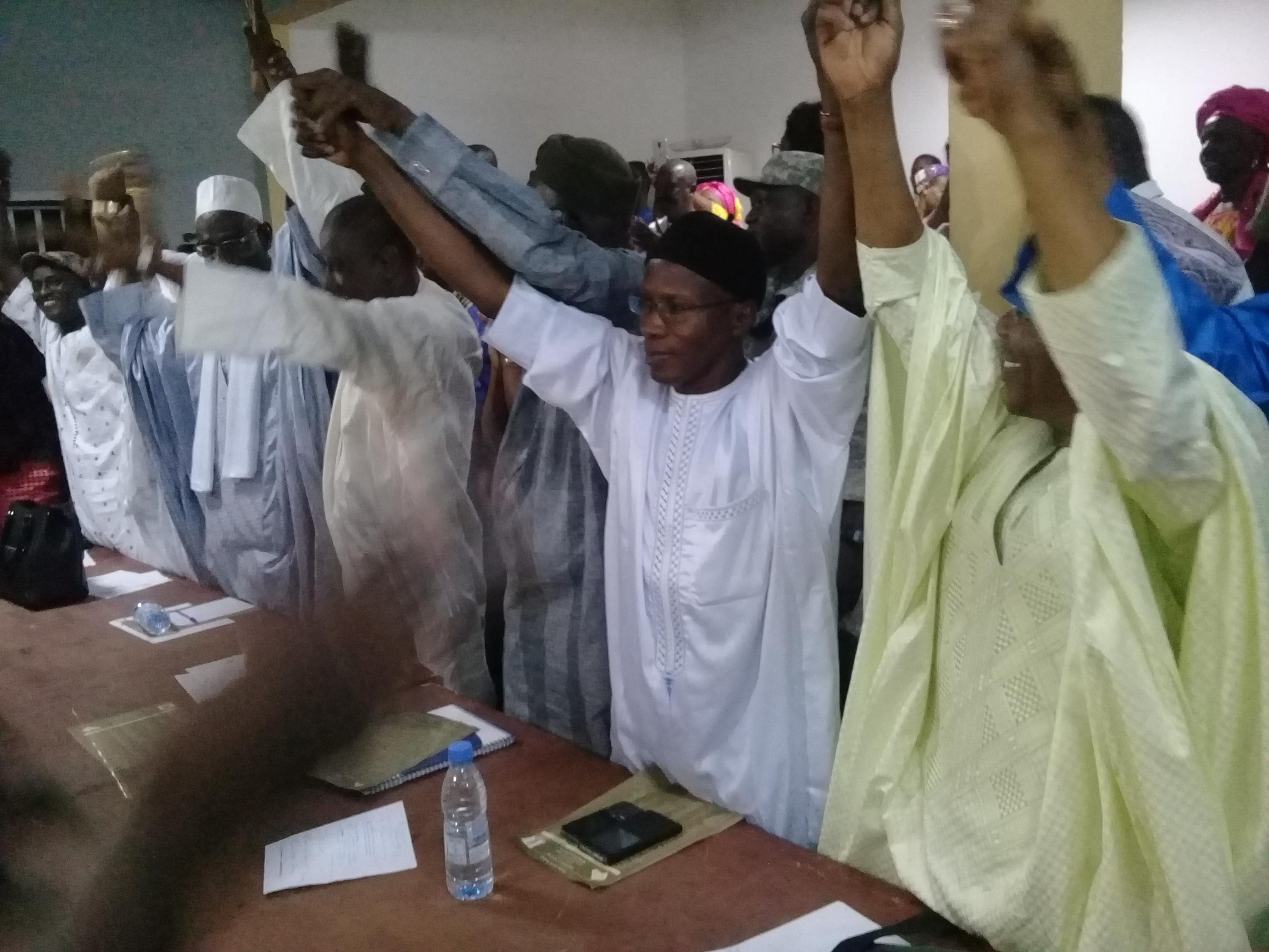 Assemblée générale de la coalition BBY du département pour l'installation du comité électoral à Kanel