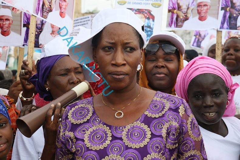 L'Association And Japplanté de Grand-Yoff aux côtés d'Ablaye Ndour pour le triomphe de Macky Sall