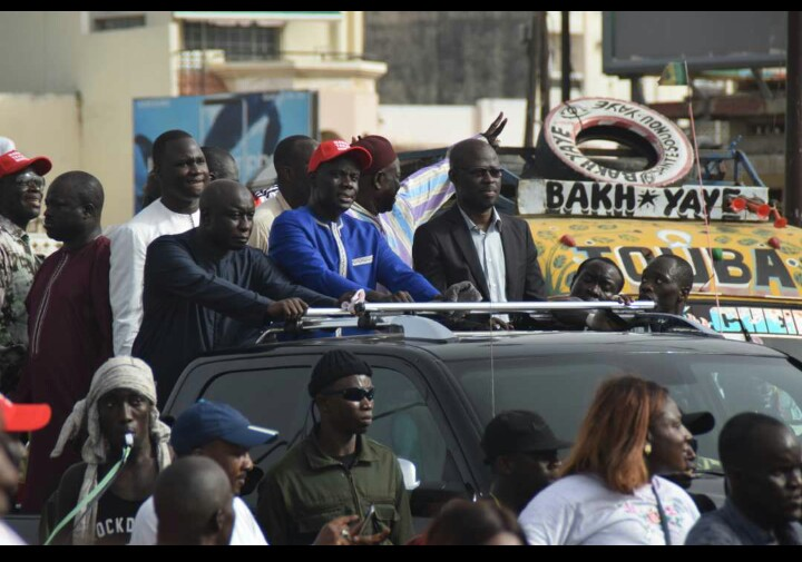 Affaissement d'un mur du Stade Demba Diop : « Mankoo Taxawu Senegal » suspend pour 24 heures sa campagne