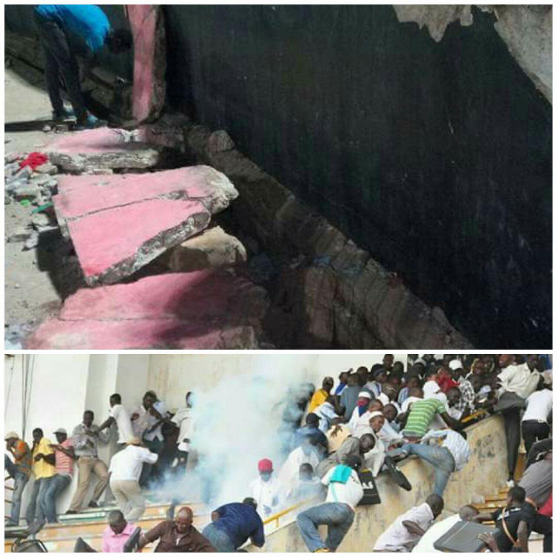 Affaissement d'un mur au stade Demba Diop : La police dégage ses responsabilités…